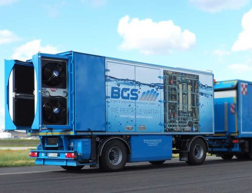 mobile water treatment system (water cleaning system) – the new WCS 6000 is here
