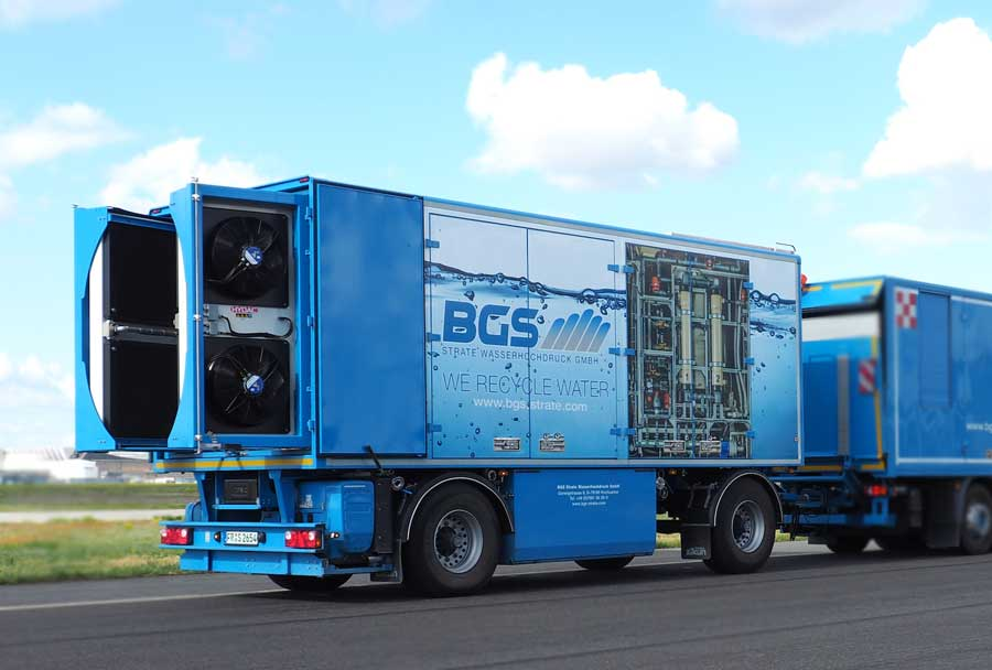 WCS 6000 - mobile water treatment system