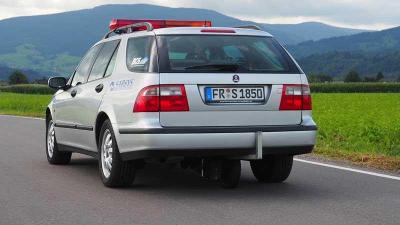Fahrzeug zur Frictionsmessung der BGS Strate Wasserhochdruck GmbH