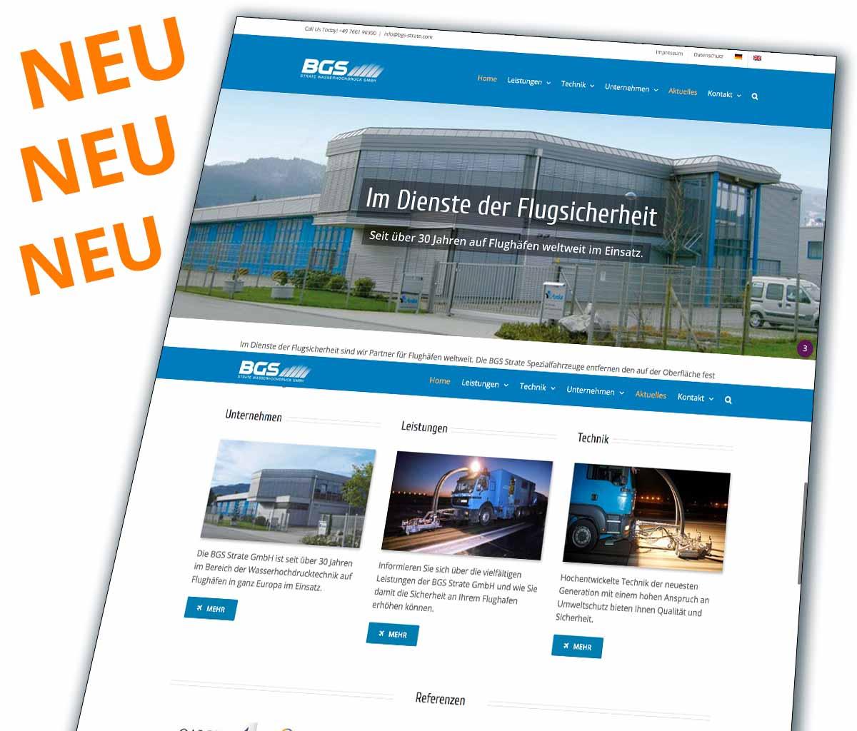 e09b4d84166a89 Die neue Webseite ist da - BGS Strate Wasserhochdruck GmbH